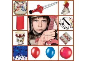 Party Pack ~Knight Party Pack - For 8 kids~