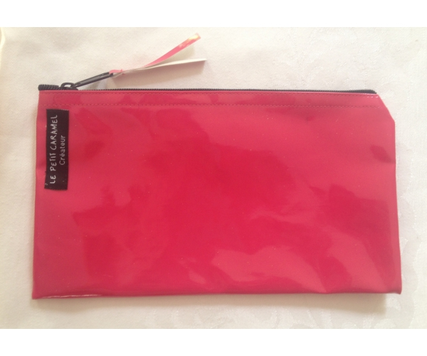 Pencil Case~Pencil Case with silver star - Red~