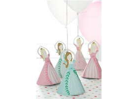 Princesse ~Kit décoratif Ballons Princesse - 8 poids / 12 ballons~