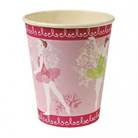 Ballerina ~Pack of 12 cups Little Dancers~