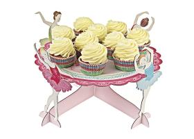 Ballerine ~Centre de table -Plat à gâteaux ou cupcakes~