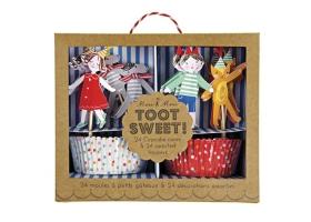 Cirque ~Kit pour cupcakes Toot Sweet~