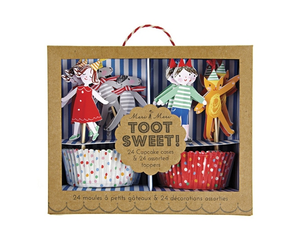 Cirque ~Kit pour cupcakes Toot Sweet~