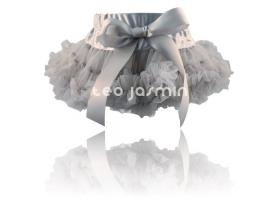 Costume fille ~Jupe Tutu Froufrou Grise~