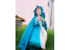 Princesse ~Cape de Princesse turquoise et or~