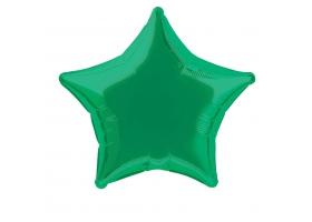 Ballon Mylar - Etoile Verte