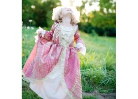 Princess ~Dress - pink and cream~