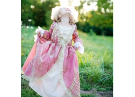 Princesse ~Robe rose et or~