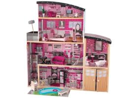 Jouets ~Grande Maison de poupée en bois - avec piscine~