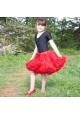 Costume fille ~Jupe Tutu Skirt rouge~