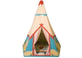 Toys ~Teepee Natural Multi Stripe Wigwam - Wingreen~