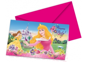 Disney Princess Cartes d'invitation