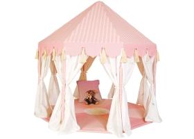 Jouets ~Tente Pavillon Rose en tissu - Wingreen~