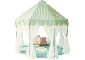 Jouets ~Tente Pavillon Vert en tissu - Wingreen~