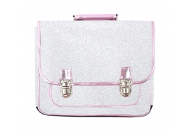 School Bag ~School Bag with silver glitter~