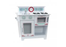 Cuisine pour enfant en bois - Kitchenette Blanche