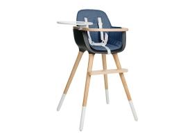 Coussin pour chaise haute OVO - bleu