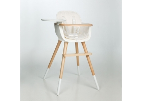 Coussin pour chaise haute OVO - blanc