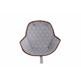 Seat Cushion for High Chair OVO - City Grey with Leatherette