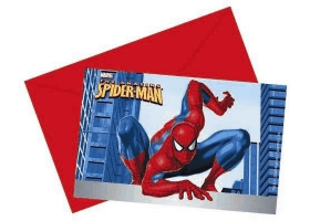 Spiderman ~Carte d'invitation~
