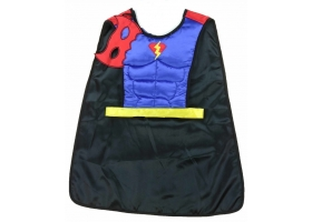 Spiderman ~Reversible Spider / Batman Cape~
