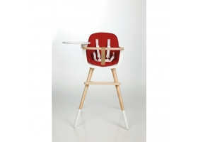 Seat Cushion for High Chair OVO - Red