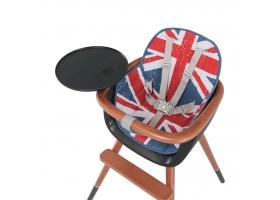 Coussin City pour chaise haute OVO - Drapeau UK