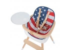 Coussin City pour chaise haute OVO - Drapeau USA