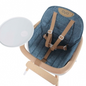 Seat Cushion for High Chair OVO - Jean