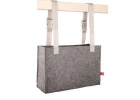 Rangement suspendu pour Commode SPOT - Cabas en feutre gris