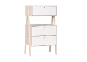 Commode Spot 2 tiroirs - 1 porte