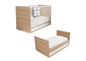 Cot Bed Evolve 70 x 140 cm