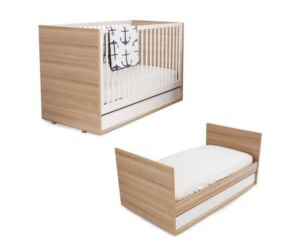 Cot Bed Evolve By Vox 70 X 140 Cm