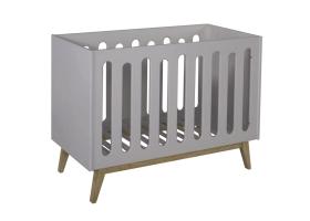 Lit bébé Trendy Gris - 60 x 120 cm