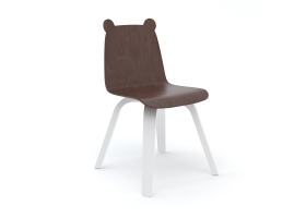 Set of 2 Bear Birch Play Chairs by Oeuf NYC
