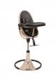 Chaise haute évolutive FRESCO - Chrome Rose Gold