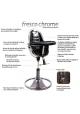 Chaise haute évolutive FRESCO - Chrome Mercury