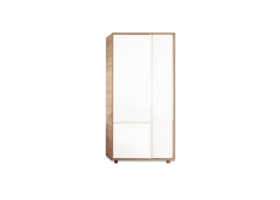 Armoire Evolve - Blanc / Naturel