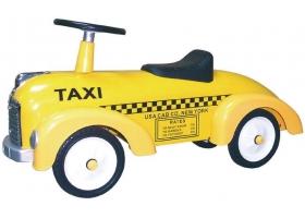 Voiture porteur Taxi jaune