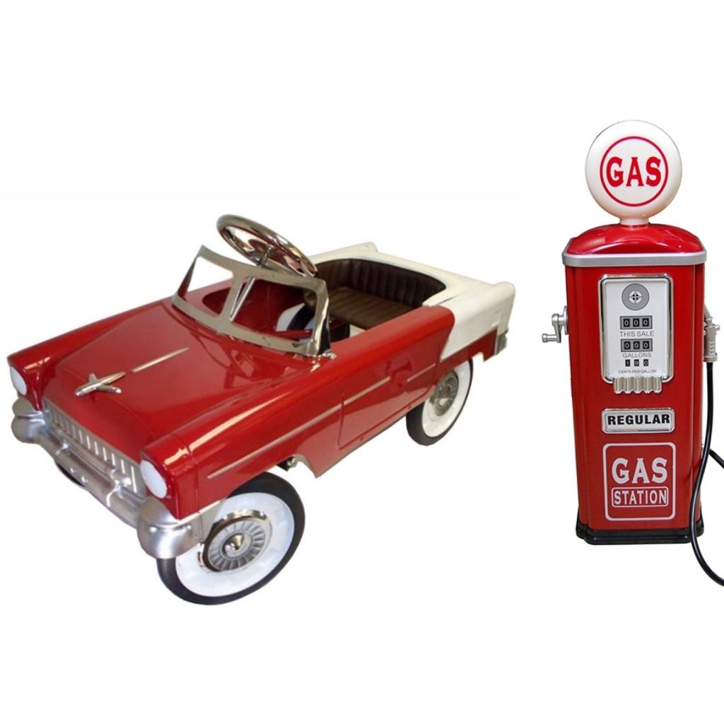 Toys Pedal Car Red Classic Rêves Merveilles