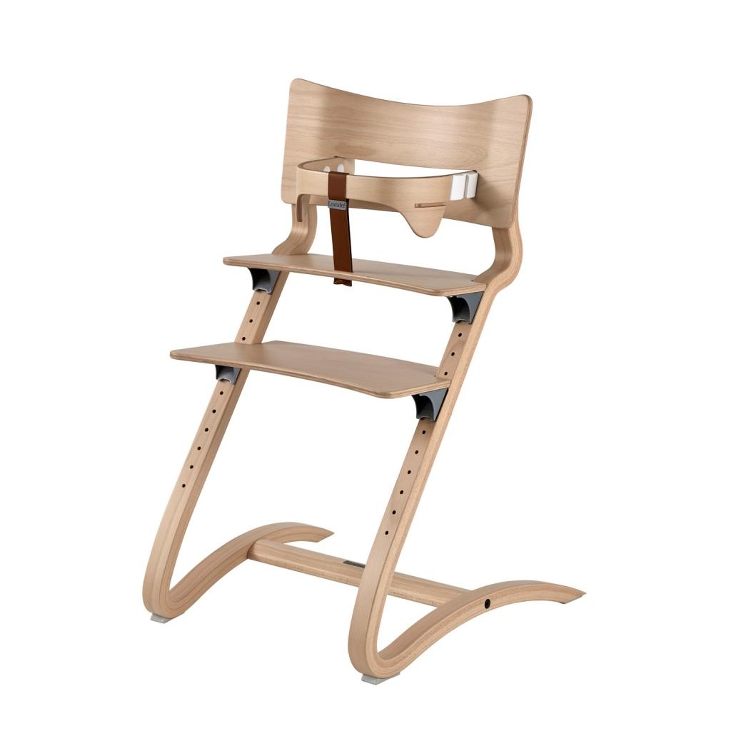 Chaise haute évolutive naturel par Leander