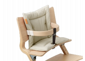 Leander High Chair Cushion Vanilla