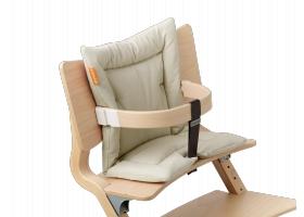 Leander High Chair Cushion Vanilla