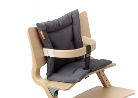Leander High Chair Cushion Grey