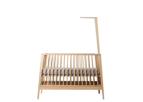 Linea Baby Bed Canopy - Solid oak