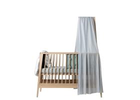 Ciel de lit bébé LINEA bleu pâle