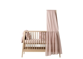 Linea Baby Bed Cot Net Pale pink