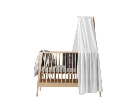 Ciel de lit bébé LINEA blanc LEANDER
