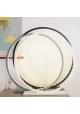 Lampe à poser en bois peint Noir - 25, 30, 60 ou 70 cm