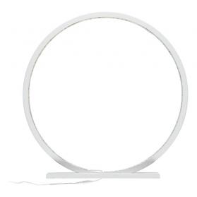 Lampe à poser en bois peint Blanc - 25, 60 ou 70 cm
